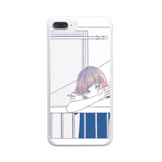 in the eyesの煙草 Clear smartphone cases