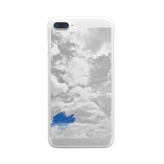 空の色 Clear smartphone cases
