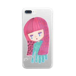 夜が来た Clear smartphone cases