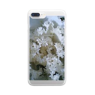 光の中で・・・ Clear smartphone cases