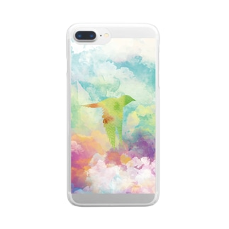 Flying Storms Clear smartphone cases