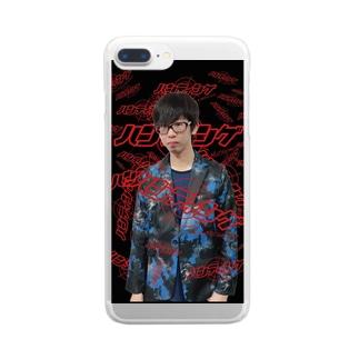 ハンティング松本 Clear smartphone cases
