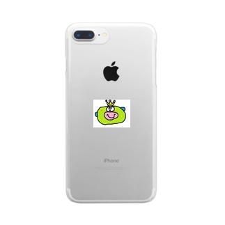 tonchikiとんとん クリアスマートフォンケース