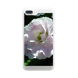 ほのかにピンクが色っぽいね Clear smartphone cases