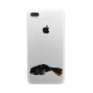 テオトラドンムブ Clear smartphone cases