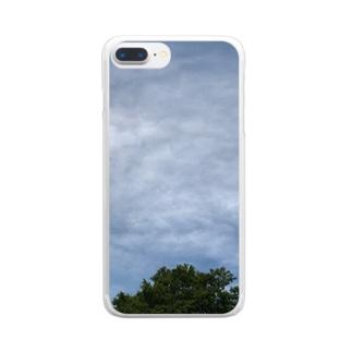 梅雨空 Clear smartphone cases