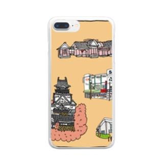 ぶらり岡崎2 Clear smartphone cases
