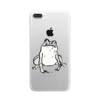 購買部長の肖像 Clear smartphone cases