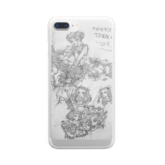 素描2 Clear smartphone cases