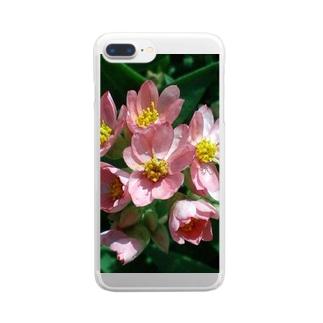 かんざしの様に・・・ Clear smartphone cases