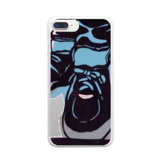 sneaker(Man) Clear smartphone cases