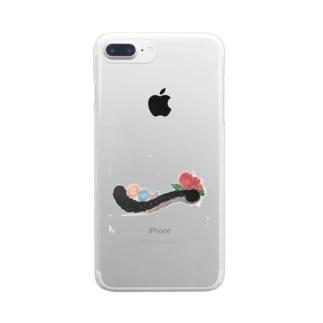 一いち Clear smartphone cases