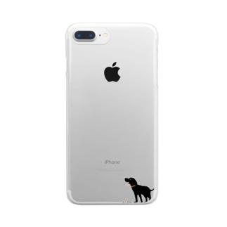 【nina&bart】atom Clear smartphone cases