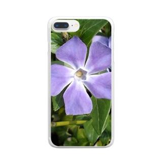 風車みたい Clear smartphone cases