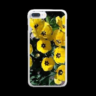 Dreamscapeのお庭にポイント Clear smartphone cases