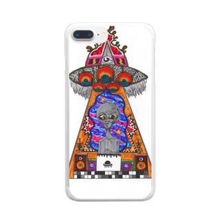 宇宙 Clear smartphone cases
