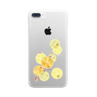 citrus Clear smartphone cases