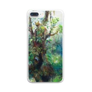 ムラナギ/水辺の詩 Clear smartphone cases