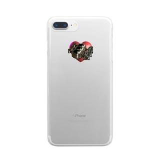 む2 Clear smartphone cases