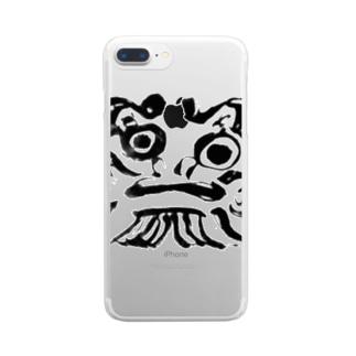 daruma Clear smartphone cases