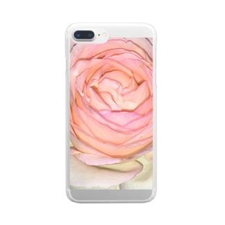 綾四季/花002 Clear smartphone cases
