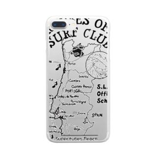 SURF CLUB クリアスマートフォンケース