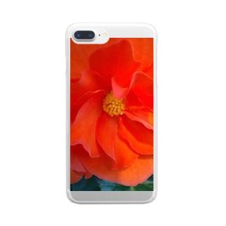 太陽の様に Clear smartphone cases