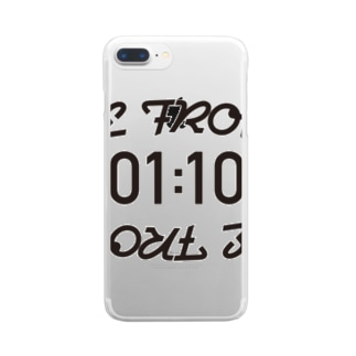 DEFROW Clear smartphone cases