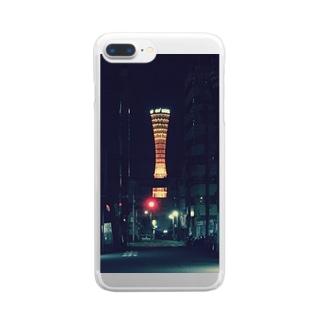 神戸ポートタワー Clear smartphone cases