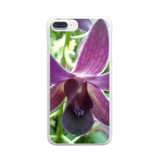 羽ばたく様に Clear smartphone cases