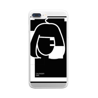 CALENDER GIRL(NO CALENDER) Clear smartphone cases