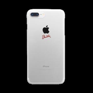 mattakumoのfriendship Clear smartphone cases