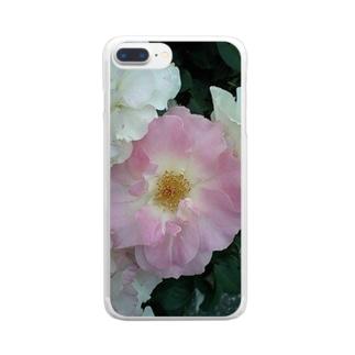 柔らかな心 Clear smartphone cases