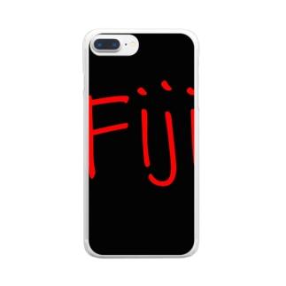 Fiji - Store クリアスマートフォンケース