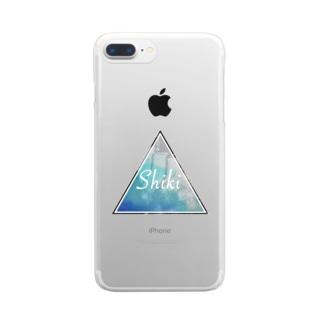 サマータイム Clear smartphone cases