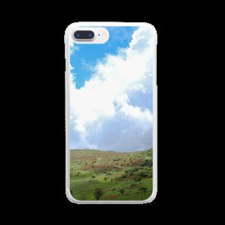 JIIIILのレンゲツツジの霧ヶ峰 Clear smartphone cases