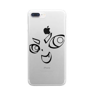 TarCoon☆FaCe Clear smartphone cases