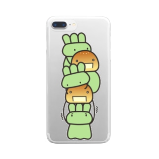 つみやくそう Clear smartphone cases