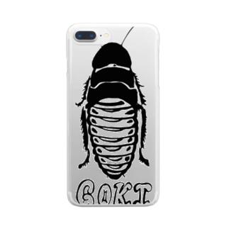 ごきぶりさん Clear smartphone cases