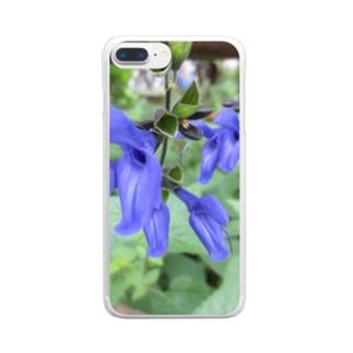 秋の青空の様に Clear smartphone cases