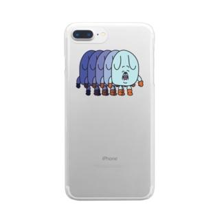 イヌマン帰宅 Clear smartphone cases
