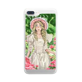 告白 Clear smartphone cases