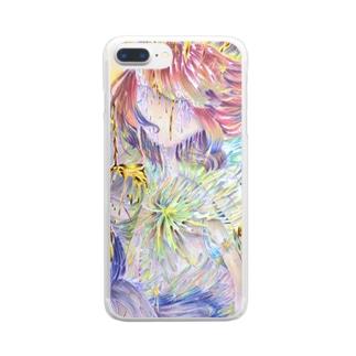 輪廻 Clear smartphone cases