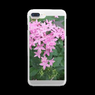 Dreamscapeの星の王女様No.1 Clear smartphone cases