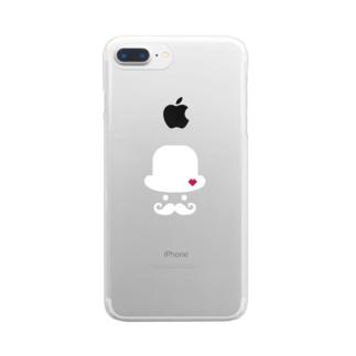 サプラブさん Clear smartphone cases