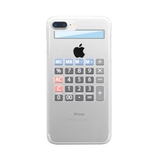 これは電卓です クリアスマートフォンケース