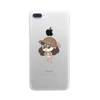 ステファニー3 Clear smartphone cases