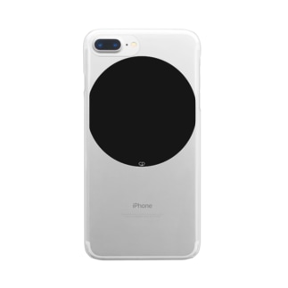 Black En Clear smartphone cases