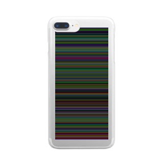 stripe_RGB Clear smartphone cases