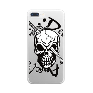 Devil with angel's heart Clear smartphone cases